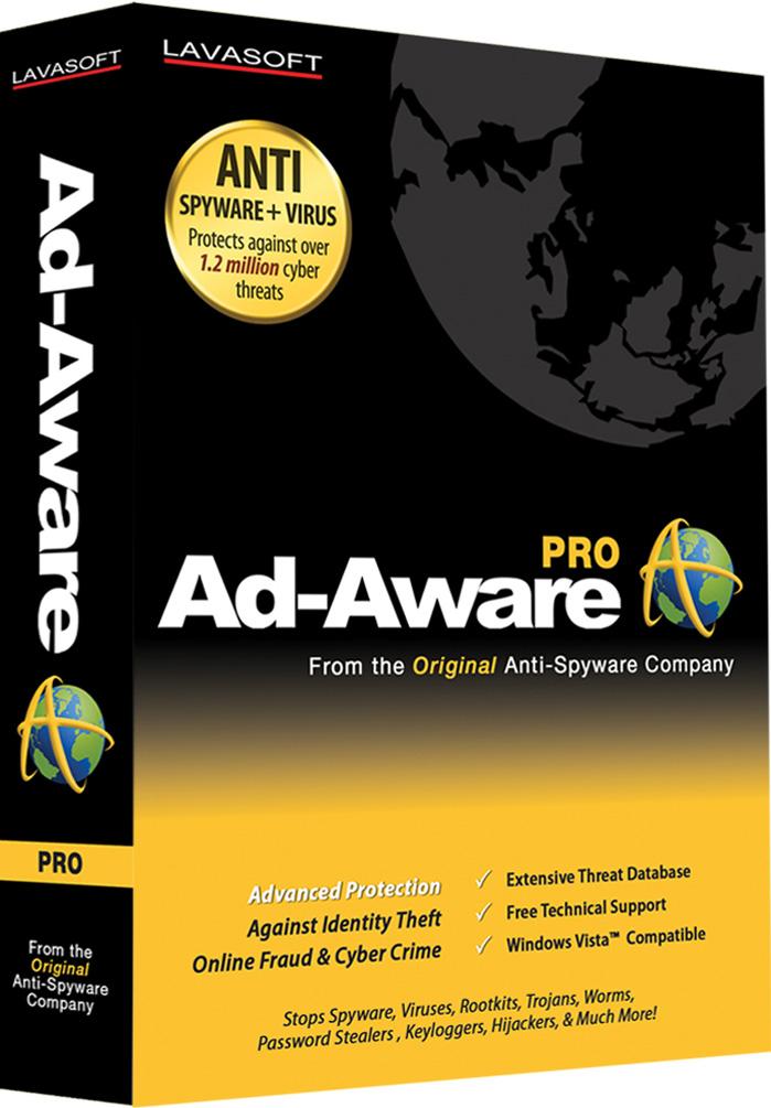 Download softwarenya melalui link ini ad-aware free merupakan software anti spyware terpopuler di free download